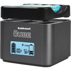 hahnel ProCube Twin Charger for Nikon and AA Batteries
