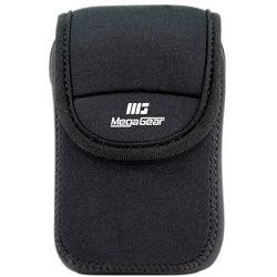 MegaGear Ultra-light Neoprene Camera Case with Carabiner for Sony Cyber-Shot DSC-W800 Camera (Black)