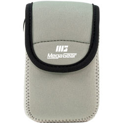 MegaGear Ultra-Light Neoprene Camera Case for Samsung WB35F (Gray)