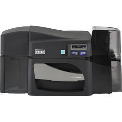 Fargo DTC4500e Single-Sided Card Printer with Dual-Input Locking Hopper & Magnetic Stripe and Omnikey Cardman 5121 and 5125 Smart Card Encoders