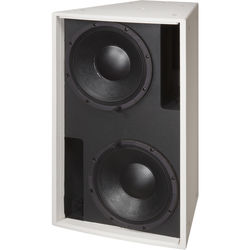 "Electro-Voice Dual 12"" Bass Element System (White, Weather-Resistant)"
