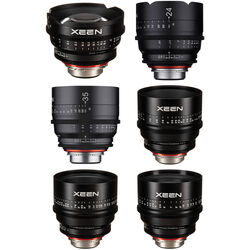 Rokinon Xeen 14, 24, 35, 50, 85, 135mm Cine 6 Lens Bundle (PL)