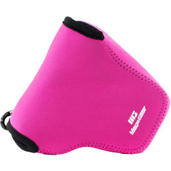 MegaGear Ultra-Light Neoprene Camera Case for Nikon COOLPIX L340 (Hot Pink)