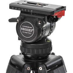 Secced Fluid Head for HDV Camcorder