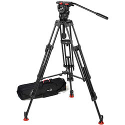 Sachtler 0778 Aluminum Tripod System with FSB 8 Head, ENG 75/2 D HD Legs & Mid-Level Spreader