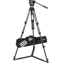 Sachtler Ace L GS CF Tripod System with Ground Spreader