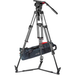 Sachtler Video 18 S2 Fluid Head & ENG 2 CF Tripod System with Ground Spreader