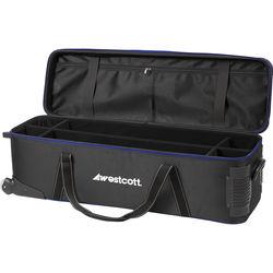 Westcott Deluxe Wheeled Travel Bag (Black)