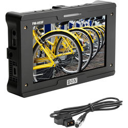 "Bon 5.5"" 3G-SDI Full HD On-Camera Monitor Kit with D-Tap to Mini XLR Cable"