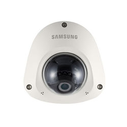 Hanwha Techwin WiseNet Lite Series SNV-L6014RM 2MP Outdoor Vandal-Resistant Network Flat Dome Camera with Night Vision