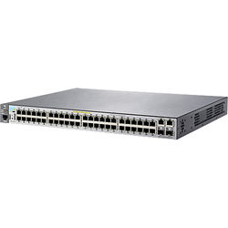 HP 2530-48-PoE+ 48-Port Layer 2 Ethernet Switch with Two SFP Slots (3 RU)