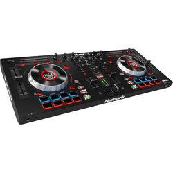 Numark Mixtrack Platinum - DJ Controller with Jog Wheel Display for Serato DJ