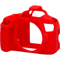 easyCover Silicone Protection Cover for Canon T6 (Red)