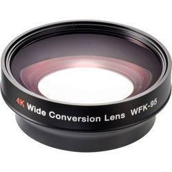 Zunow WFK95 4K 0.8x Wide-Angle Zoom-Through Converter for Lenses with 72mm Front Thread