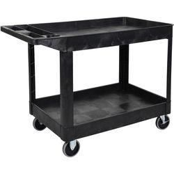 Luxor Two-Shelf Heavy Duty Utility Cart
