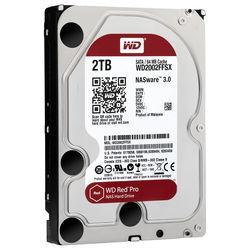 """WD 2TB Red Pro 7200 rpm SATA III 3.5"""" Internal NAS HDD"""