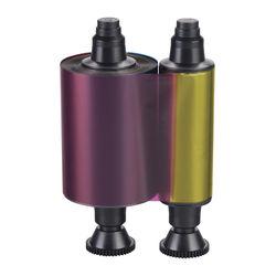 Evolis YMCKOK Full Color Ribbon for Select Card Printers (up to 200 Prints)