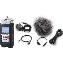 Zoom H4n Pro 4-Channel Handy Recorder Kit with Accessory Pack