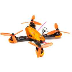 Shen Drones Mako Quadcopter Frame (Orange)