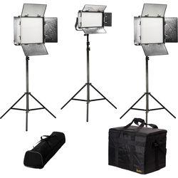 ikan Rayden Daylight 3-Point LED Light Kit with 2x RW10 and 1x RW5