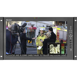 """Marshall Electronics V-LCD171MD 17.3"""" Full HD Rackmount Monitor with MD-3GE Module"""