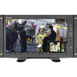 """Marshall Electronics V-LCD171MD-DT 17.3"""" Full HD Desktop Mount Monitor with MD-3GE Module"""