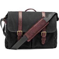 ONA Brixton Camera/Laptop Messenger Bag (Canvas, Black)