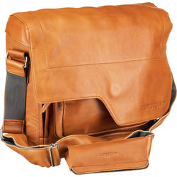 "compagnon ""the messenger"" Generation 2 Camera Bag (Light Brown, Leather)"