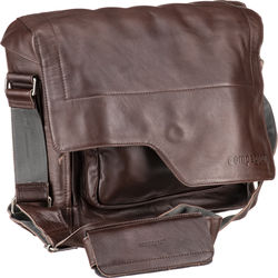 "compagnon ""the messenger"" Generation 2 Camera Bag (Dark Brown, Leather)"