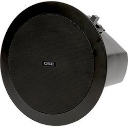 "QSC AcousticDesign 4.5"" 2-Way Ceiling Loudspeaker (Pair, Black)"