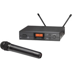 Audio-Technica ATW-2120bD Wireless Handheld Microphone System (bD: 656.125 to 678.500 MHz)
