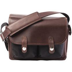 Oberwerth Heidelberg Camera Bag (Black/Dark Brown)