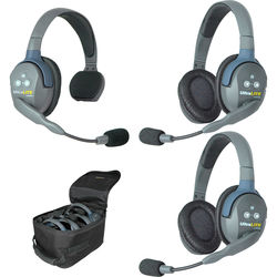 Eartec UltraLITE 312 3-Person Headset System