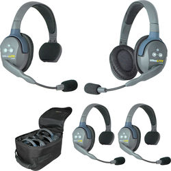 Eartec UL431 UltraLITE 4-Person Headset System (USA)