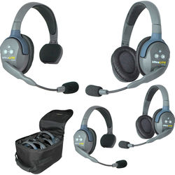 Eartec UL422 UltraLITE 4-Person Headset System (USA)