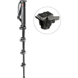Manfrotto XPRO Land 5-Section Aluminum Monopod with 234RC Tilt Head Kit