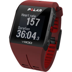 Polar V800 Javier Gomez Noya Special Edition Sports Watch (Red)