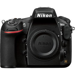 Nikon D810 DSLR Camera (Body Only, Open Box)