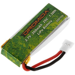DROMIDA LiPo 1S 3.7V 350mAh Battery for Kodo HD Drone