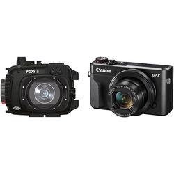 Fantasea Line FG7X II Underwater Housing and Canon PowerShot G7 X Mark II Camera Kit