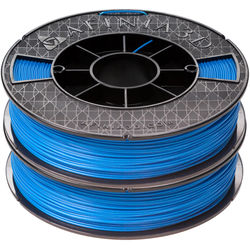 Afinia 1.75mm ABS Premium Filament 2-Pack for H-Series 3D Printers (2 x 500g, Blue)