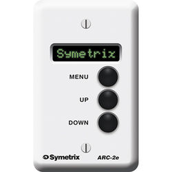 Symetrix ARC-2E Modular Wall-Panel Remote Control for DSP Units (24 Menus)