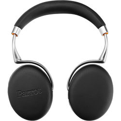 Parrot Zik 3.0 Stereo Bluetooth Headphones & Wireless Charger (Leather Grain, Black)