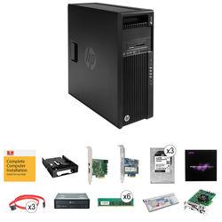 B&H Photo PC Pro Workstation 3.6 GHz 6-Core / Media Composer 8 / Quadro 4GB / DeckLink Studio 4K / 64GB RAM / 13TB HDD / 512GB SSD
