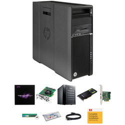 B&H Photo PC Pro Workstation Dual 2.1 GHz 8-Core / Media Composer 8 / Quadro 8GB / DeckLink Studio 4K / 64GB RAM / 12TB RAID / 256GB SSD