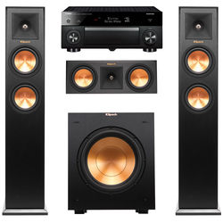 Yamaha AVENTAGE RX-A1050BL 7.2-Channel Receiver and 3.1-Channel Speaker Kit (Cherry Speakers)