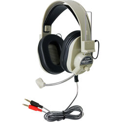 HamiltonBuhl HA-66M Deluxe Multimedia Headset with Microphone