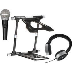 Crane Hardware Stand Elite Kit with Microphone and DJ Headphones