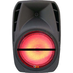 """QFX PBX-BF12 Portable Battery-Powered 12"""" Party Speaker with Bluetooth/USB/SD/FM"""