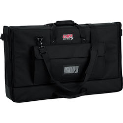 """Gator Cases Medium Padded Nylon Carry Tote Bag for LCD Screens Between 27-32"""""""